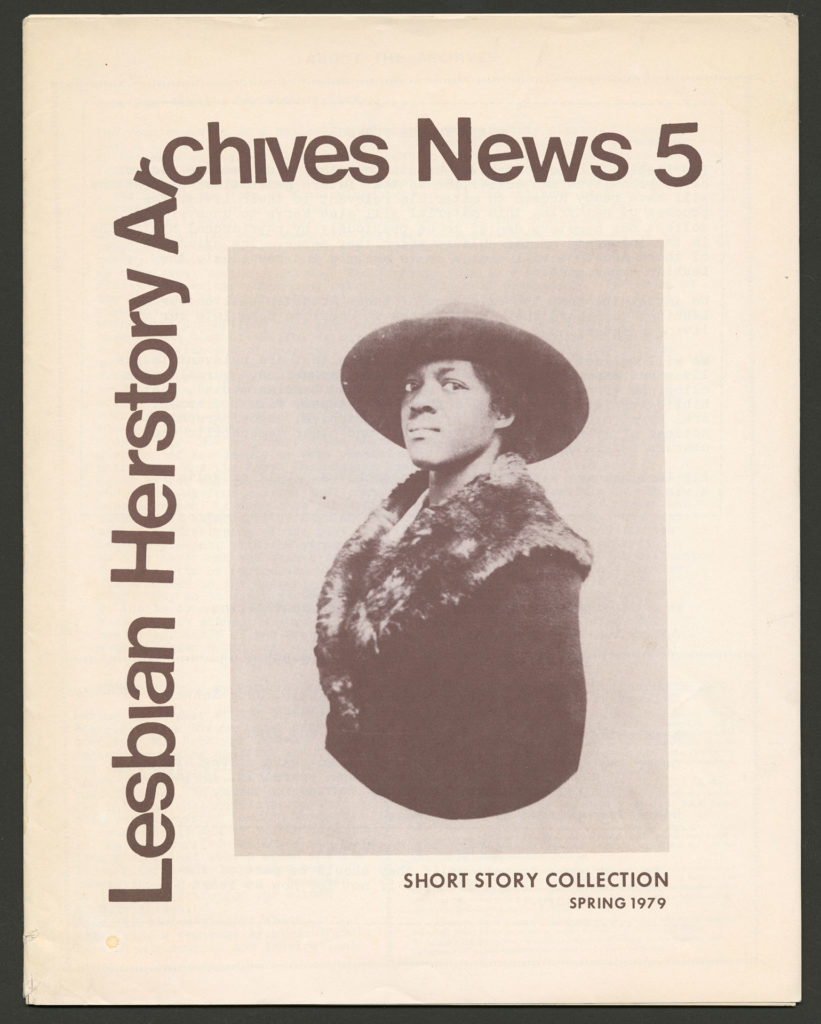 The front of an LHA newsletter dated spring 1979. The subject is Short Story Collection.